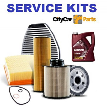 SAAB 9-3 1.9 TID OIL AIR FUEL FILTERS +OIL (2005-2009) SERVICE KIT
